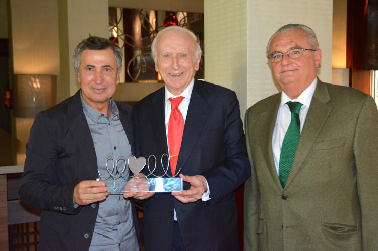 Enrique Rubio, Leopoldo Abadía y Javier Marco
