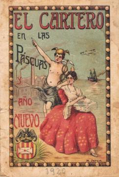 Felicitación El Cartero. València, 1920