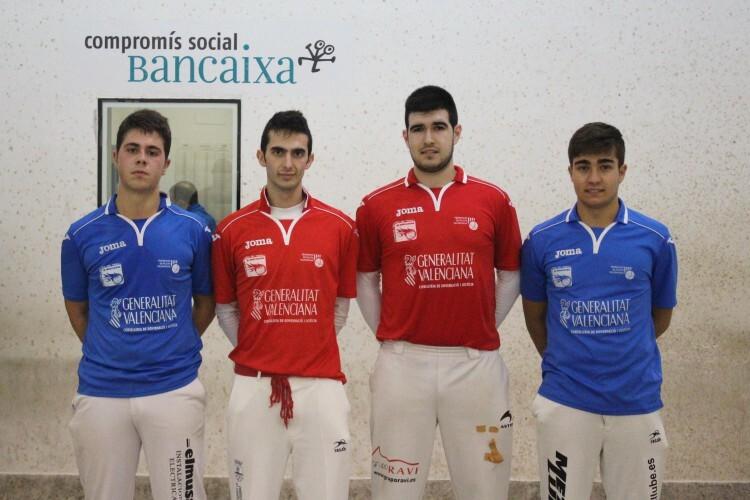 Foto. Los cuatro finalistas de 2014
