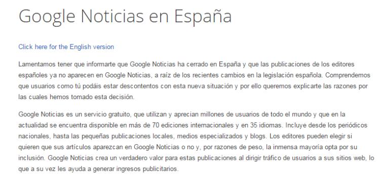 Google Noticias en España   Ayuda de Google Noticias
