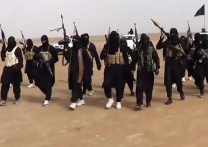 Grupo armado perteneciente al Estado Islámico (Foto-Agencias)