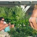 Heidi Klum desnuda topless (2)