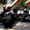 Homenaje a los periodistas muertos en 2014. (Foto-Agencias)