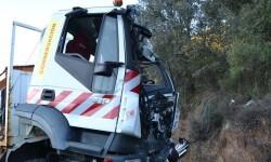 Imagen del accidente producido.