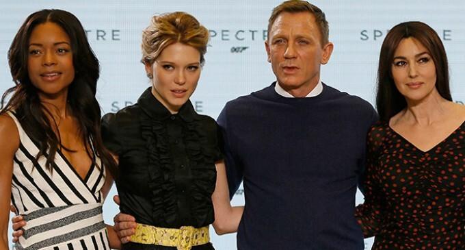 James Bond tendrá tres chicas en su película 'Spectre'