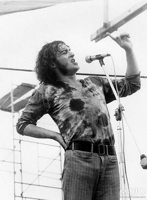 Joe Cocker en su actuación en Woodstock en el 1969. (Foto-Agencias)