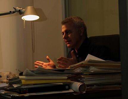 Juan Soto Martínez en un momento de la entrevista. (Foto-VLCNoticias)