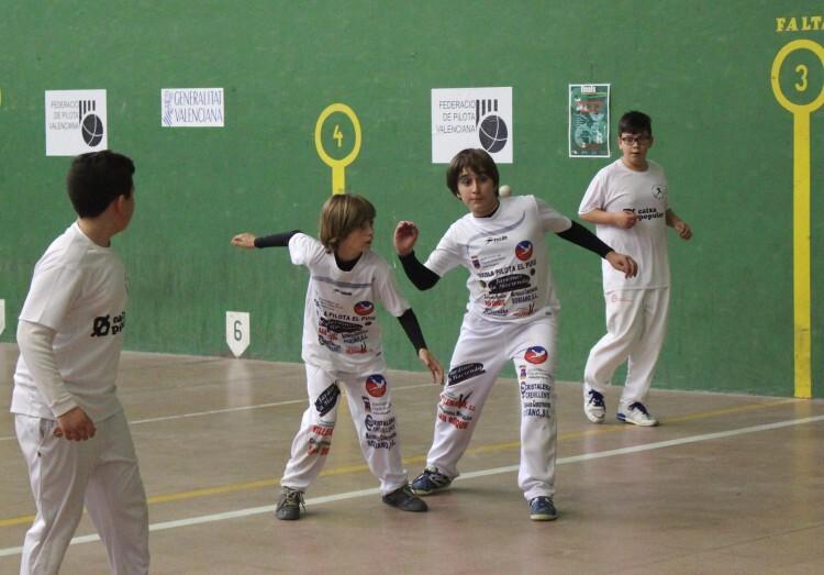 Jugadors de El Puig, alevins. Campions provincials
