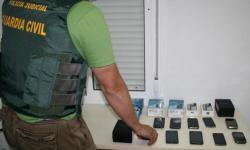La Guardia Civil intervino en la 'Operación Phone'. (Foto-Guardia Civil-Archivo)