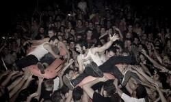 La Pulquería en un concierto con mucho interactividad con el público. (Foto-Archivo)