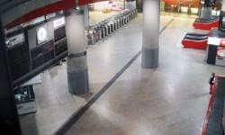 La estación de Atocha durante la madrugada. (Foto-Agencias)