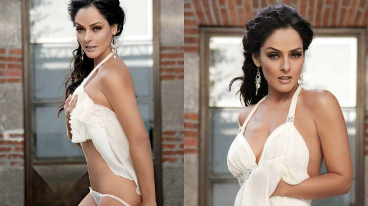 La modelo mexicana Andrea García regresa con un desnudo total (1)