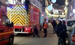 La policía acordona la zona. (Foto-Agencias)