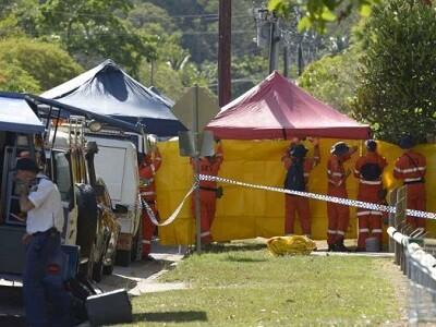 La policía investiga todo lo relacionado a la tragedia. (Foto-AP)