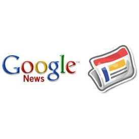 Logo de Google news.