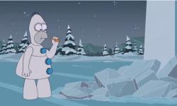 Los Simpson se burlan de Frozen en la apertura del especial de Navidad   Pasó en la TV   Teleshow