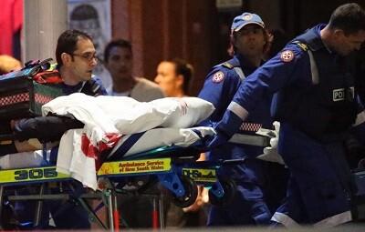 Los servicios de urgencias policiales actuaron rápidamente (Foto-AP)