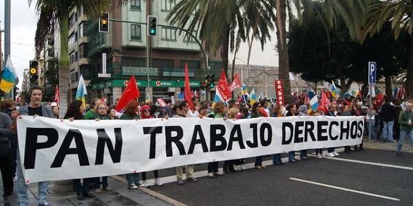 Manifestación de la Marcha de la Dignidad. (Foto-Agencias)