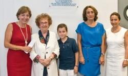 María Luz Terrada Ferrandis (segunda por la derecha), en una imagen de archivo. (Foto-COMV)