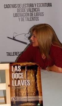 María Villamayor en un momento de la entrevista. (Foto-VLCNoticias)