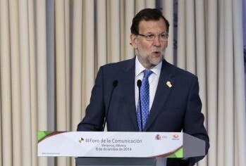 Mariano Rajoy en un momento de su alocución en la Cumbre de Veracruz. (Foto-Agencias) - copia
