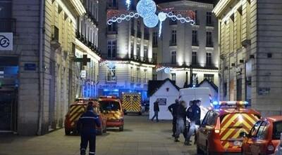 Mercado de la Navidad, en Nantes, donde ocurrieron los hechos. (Foto-Agencias)