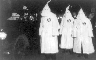Miembros del Ku Klux Klan en los años ' class=