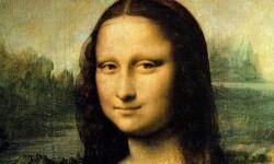 Mona Lisa, de Leonardo Da Vinci. (Foto-Archivo)