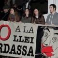 Muchos colectivos se sumaron a la manifestación. (Foto-VLCNoticias)