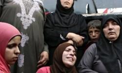 Mujeres pertenecientes a la minoría yazidí. (Foto-AP)