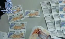 Números confiscados por la policía. (Foto-Policía Nacional)