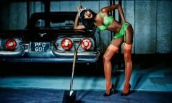Naomi Campbell deslumbró con lencería muy sexy a sus 44 años (1)