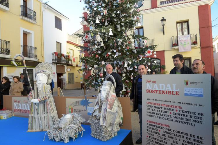 'Per un Nadal sostenible' en Beniarjo foto_Abulaila (2)