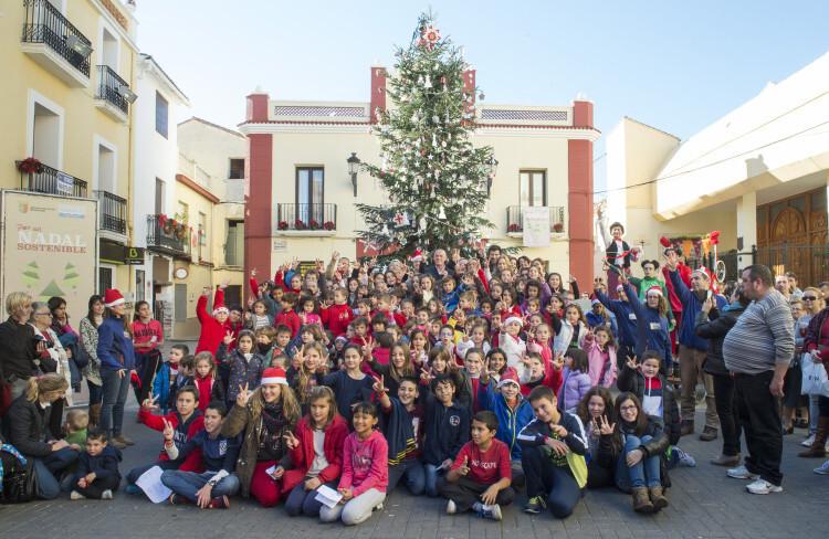 'Per un Nadal sostenible' en Beniarjo foto_Abulaila (5)
