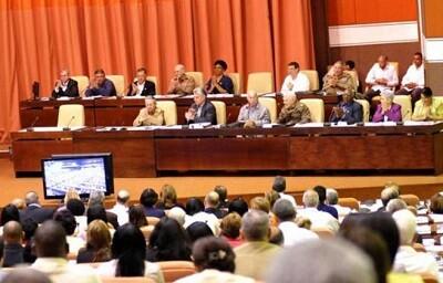 Por unanimidad parlamentaria Cuba aprueba la reconciliación con EE.UU. (Foto-Granma)