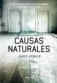 Portada del libro de James Oswald.