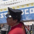 Protestas por el naufragio del Costa Concordia. (Archivo-Getty)