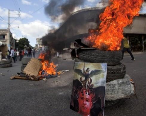 Puerto Príncipe vive una situación de gran agitación social. (Foto-AFP)
