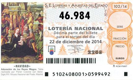 QUINTO PREMIONÚMERO46984