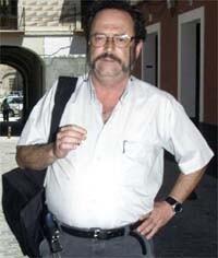 Rafael de Cózar en una imagen tomada en la calle (Foto-Blog del autor)