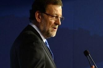 Rajoy en un acto en el Parlamento Europeo. (Foto-Agencias)