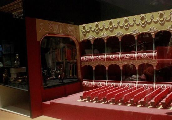 Representación a escala de la sala Escalante. (Foto-VLCNoticias)