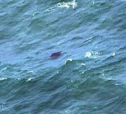 Restos del aparato fueron encontrados en el mar. (Foto-Agencias)
