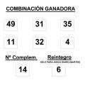Resultados de la Bonoloto 2 de diciembre. Números premiados y combinación ganadora