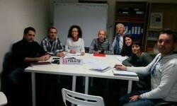 Reunión de la formación Podemos con representantes de FELGTB (Foto-Podemos)