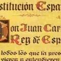 Un detalle de la Constitución Española (Foto-Agencias)