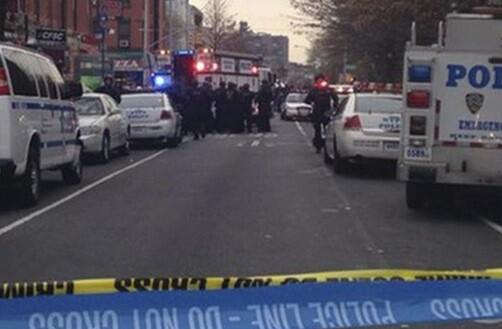 Un hombre armado mata a dos policías. (Foto-Agencias)