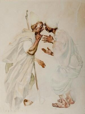 Una de las ilustraciones de José Segrelles.
