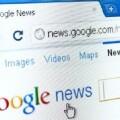 Una imagen de Google News