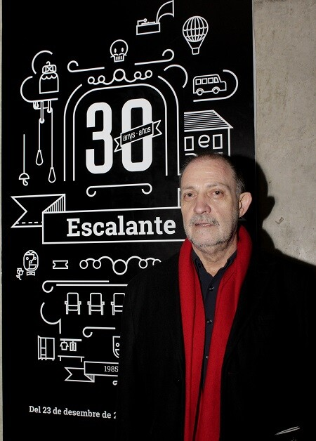 Vicent Vila, director de la Escalante. (VLCNoticias)